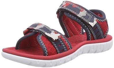 8c80a02814b Clarks Surfing Coast Textile Sandals in Blue Combi  Amazon.co.uk ...