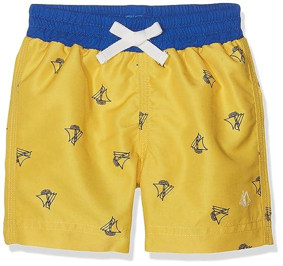 33b7ef3354442 Petit Bateau Baby Boys' Marouan Swim Trunks, Multicolour (BLE/PERSE 24)