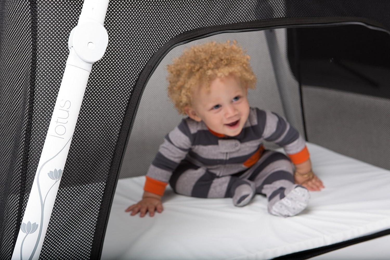 amazoncom lotus travel crib and portable baby playard lotus bed baby