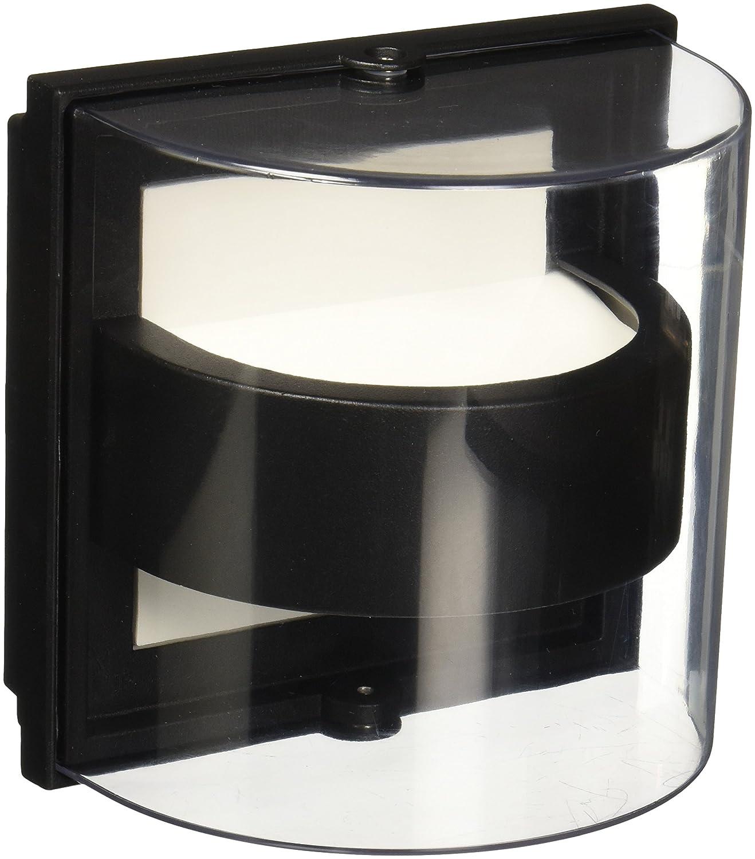 Luminario LED de Exterior, color Negro