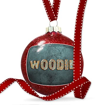 christmas decoration woodie vintage metal copper ornament - Woodies Christmas Decorations