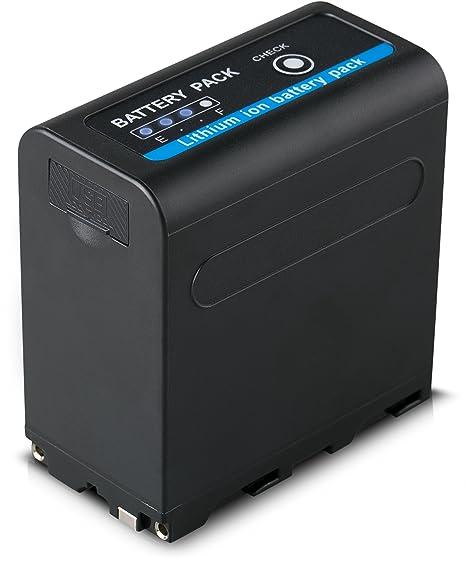 Blumax - Batería NP-F970 con alta calidad LG celdas y salida ...