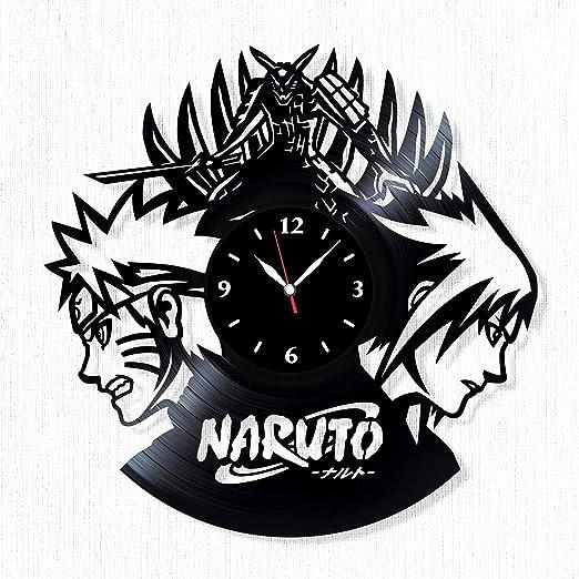 Anime Manga Sasuke Uchiha Naruto Wall Clock
