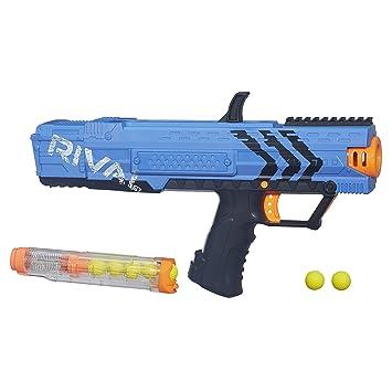 Nerf Pistola de Bolas Rival Apollo XV-700, Color Azul ...