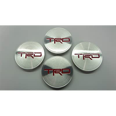 TOYOTA Tundra TRD Rock Warrior Wheel Center Caps Set Genuine OE OEM: Automotive