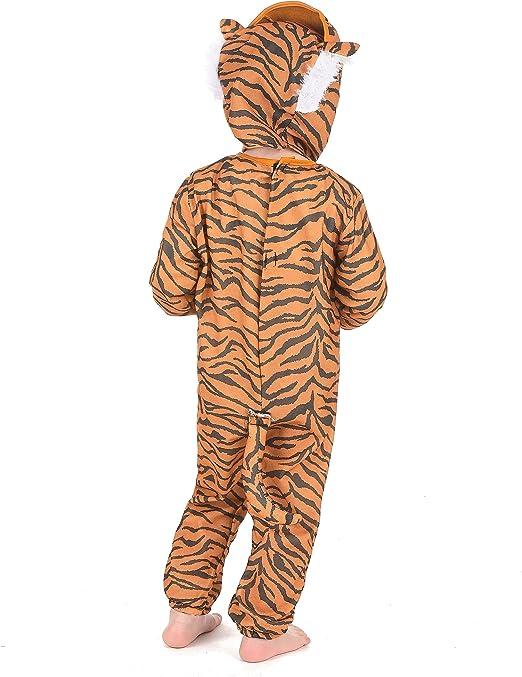 Disfraz de tigre para niño o niña: Amazon.es: Juguetes y juegos