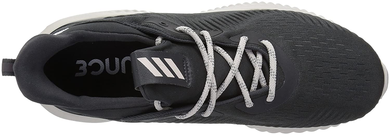adidas Frauen Alphabounce 1 W Low & Mid Tops Schnuersenkel Laufschuhe Carbon/Chalk Pearl/Carbon