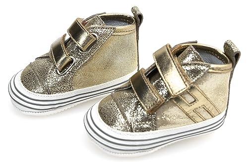 Hogan Junior Olympia Rebel Sneaker Shoes Bambina NEONATA Art.  HXB0570I574HCW596Y 17 Oro - Gold da514ddf3a9