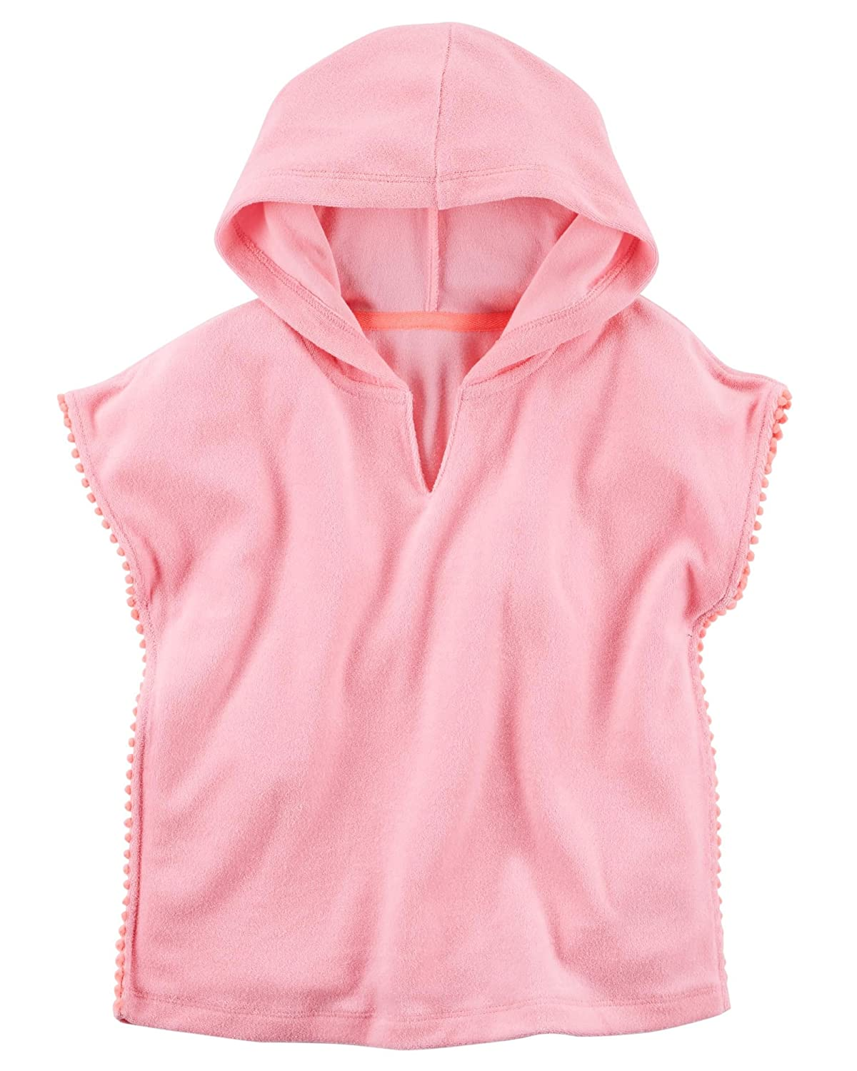 Carter's Baby Girls' Swim Cover-up, Pink Pink (6 Months)