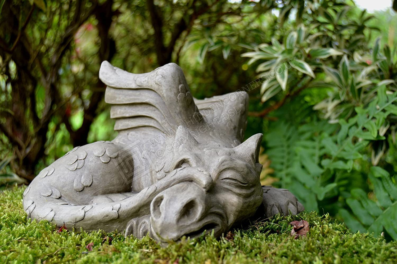 Devonshire Stone Limited James-Dragon Garden Ornament-Gargoyle ...