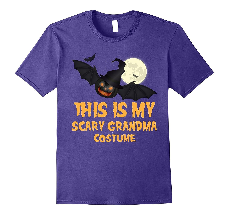 this is my scary grandma costume adult halloween t shirt fl