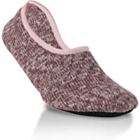 World's Softest Women's Weekend Collection Ragg Knit Ankle Slipper