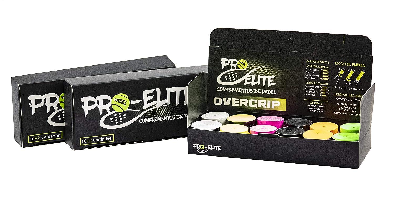overgrips Pro Elite Confort Perforados Blancos. Caja 10+2 ...