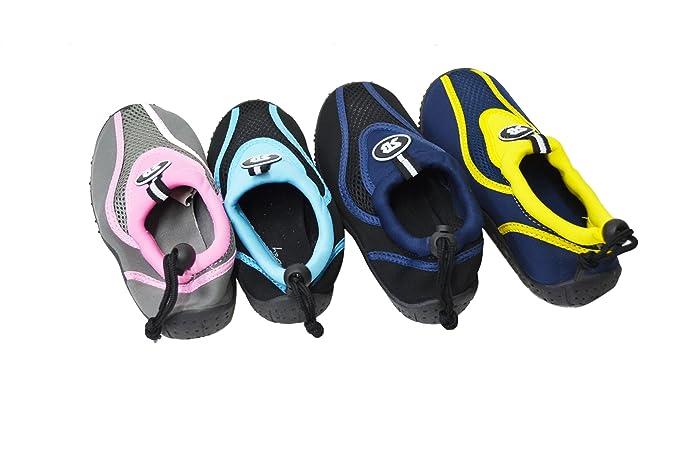 SB-K7907 Kids Girl/'s Boy/'s Water Shoes Aqua Snorkeling Shoes Pool Beach