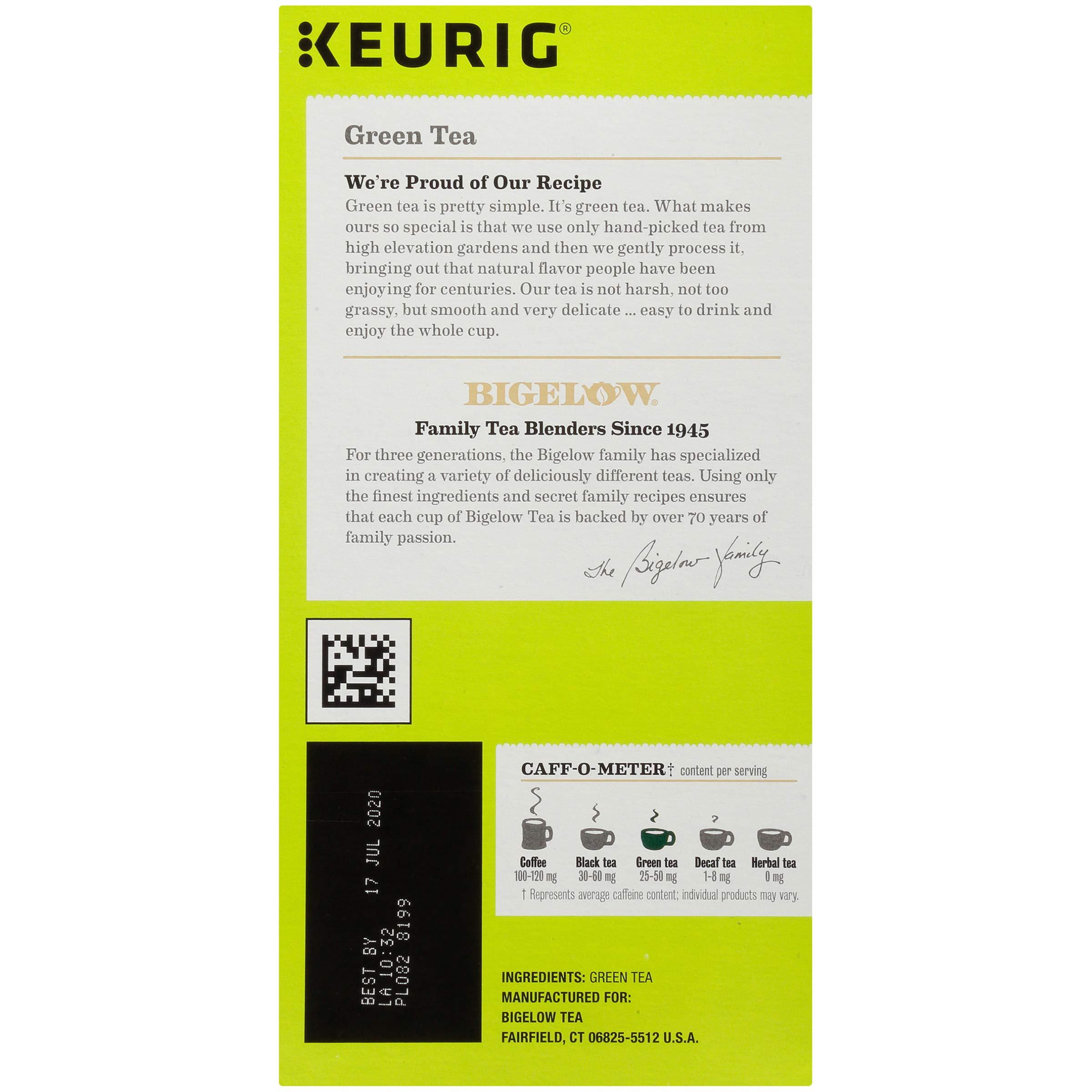 Bigelow Green Tea Keurig K-Cups, 96 Count by Bigelow