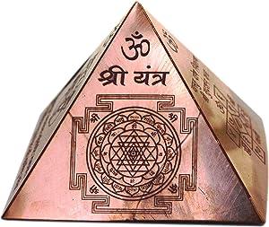 Energize Copper Vastu Dosh Nivaran Pyramid Yantra Home Decor Puja Item Diwali Gift