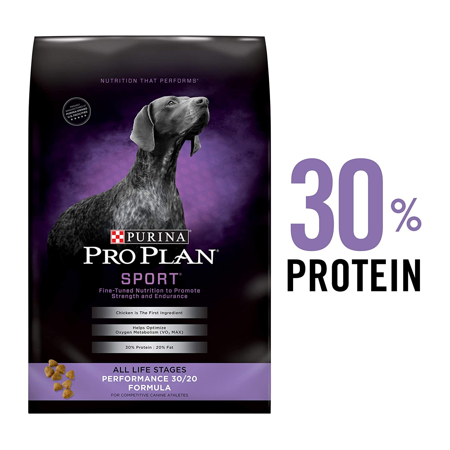 3. Purina Pro Plan Sport All Life Stages Performance 30/20 Formula