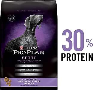 Purina Pro Plan High Protein Dry Dog Food, Sport Performance 30/20 Formula - 48 lb. Bag