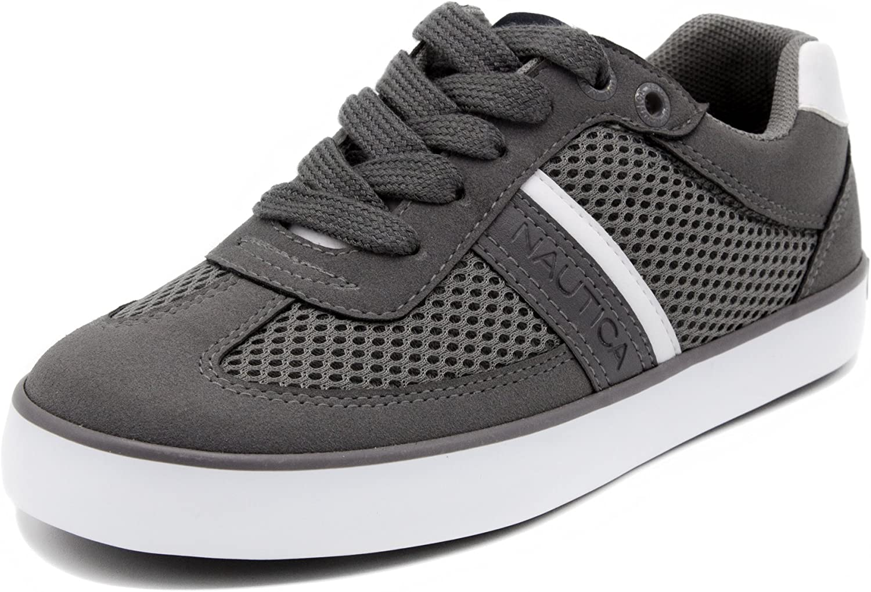 Little Kid//Big Kid Nautica Kids Gilford Sneaker-Lace up Fashion Shoe-