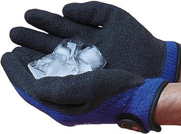 Guantes de invierno para hielo - Resistencia a temperaturas extremas por debajo de los -22ºC (Extra Gran UE 10)