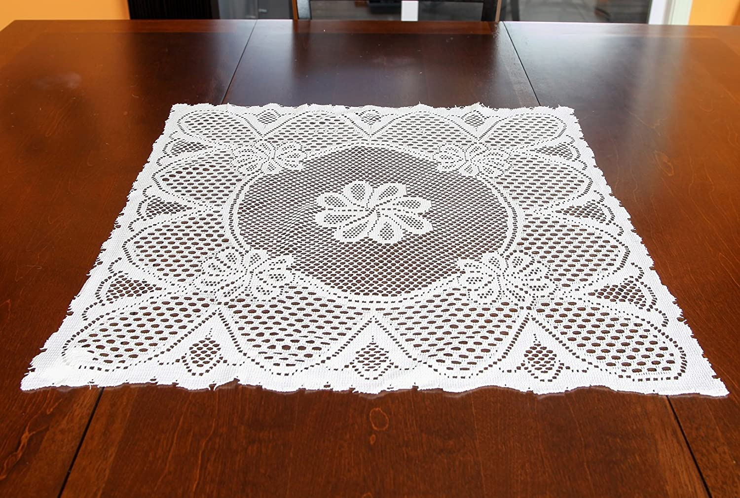 Home-X Vintage Style Square Lace Doilies Cream or White Cream COMINHKPR113915