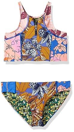Amazon.com  Maaji Girls  High Neck Mixed Print Bikini Swimsuit Set ... 3db899ae2398
