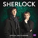 Official Sherlock 2016 Square Wall Calendar (Benedict Cumberbatch)