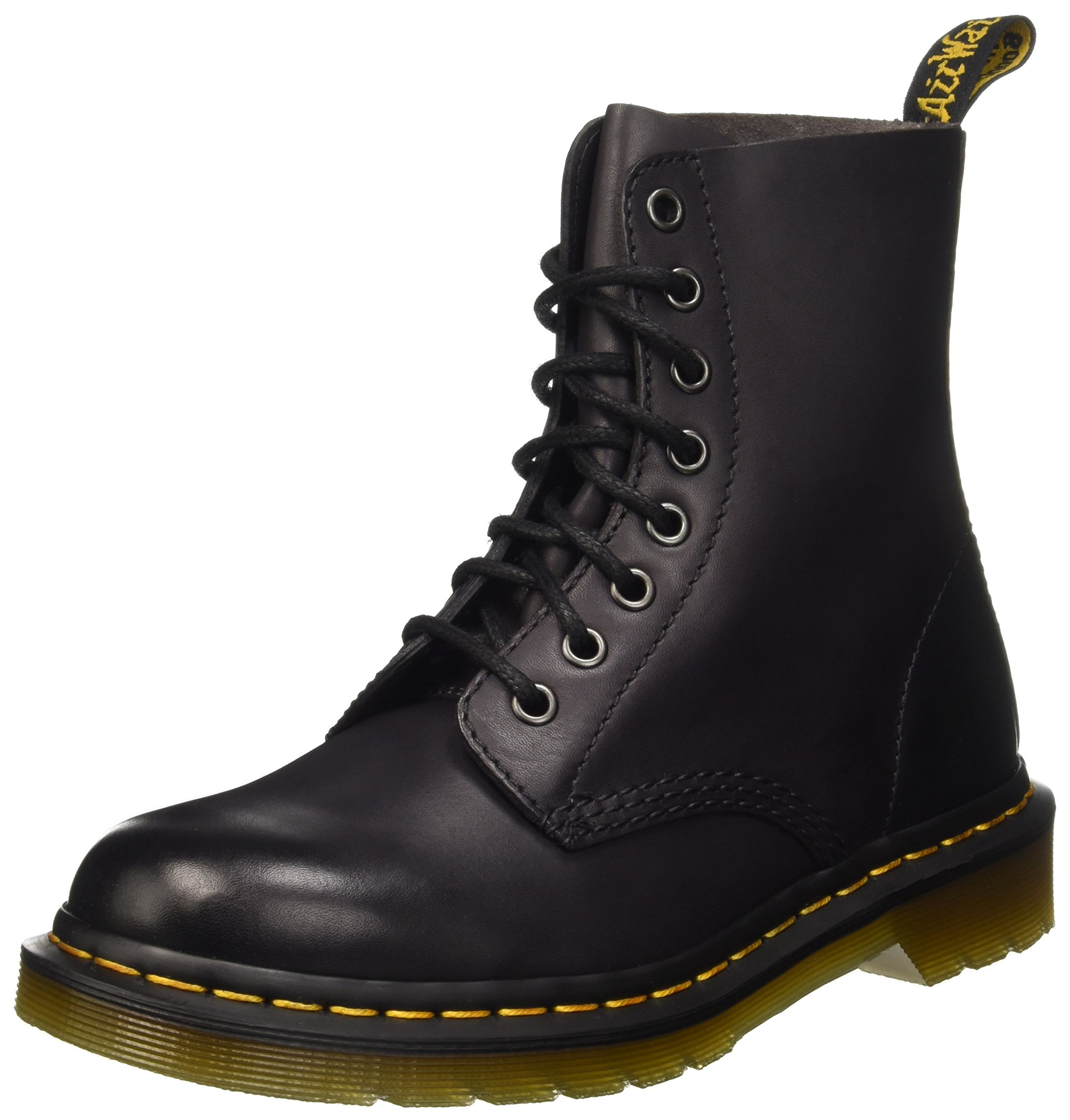 Dr. Martens Pascal 8 Eye Boot Boot, Charcoal Antique Temperley, 9 Medium UK (Men's 10 US) by Dr. Martens (Image #1)
