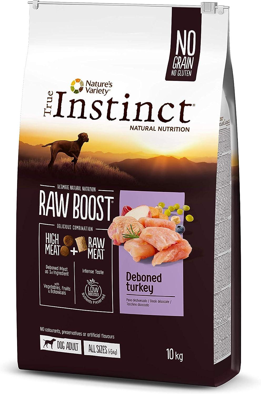 True Instinct Raw Boost - Natures Variety - con Pavo Deshuesado - 10kg