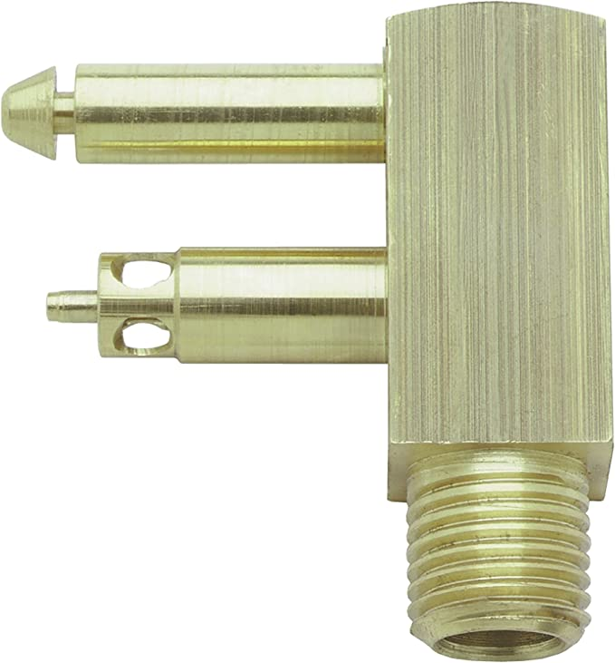 attwood 8883-6 Brass Quick-Connect Tank Fitting 1//4-Inch NPT Male Thread for Johnson//Evinrude//OMC Renewed