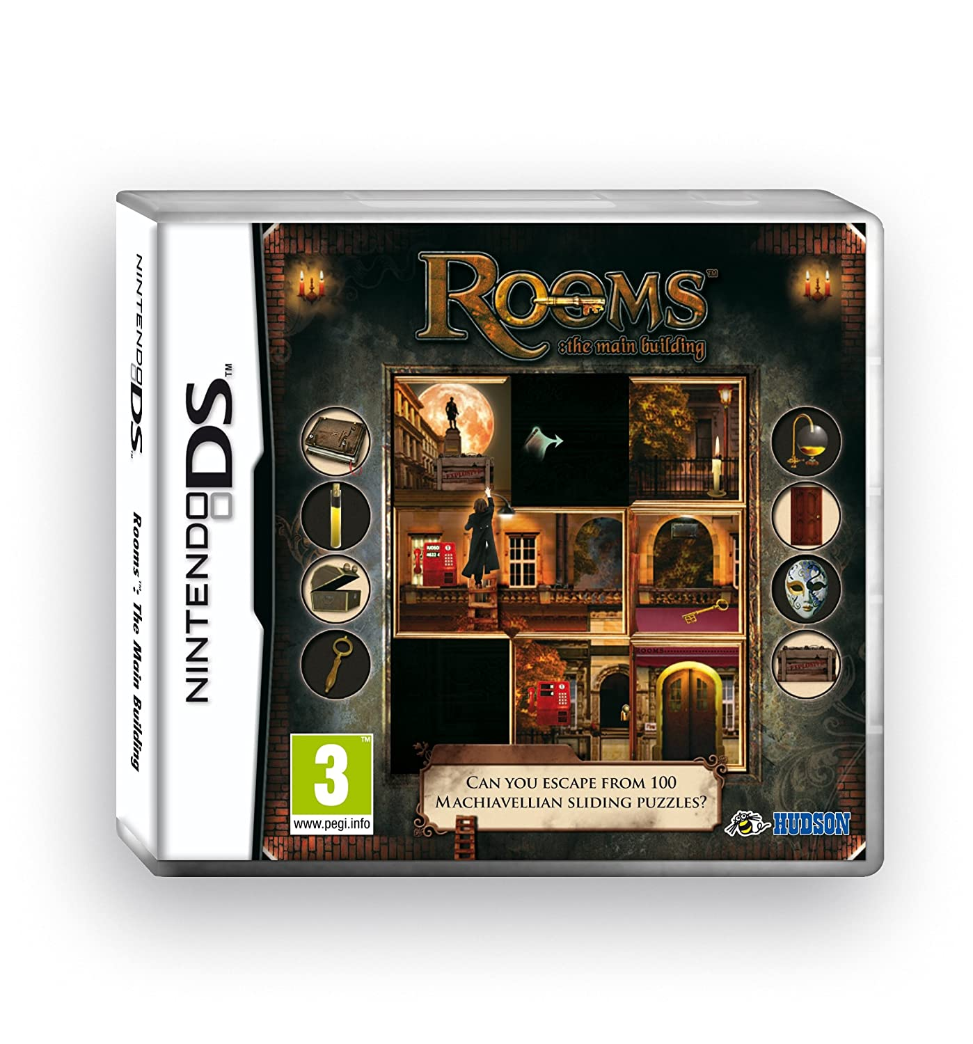 Rooms the main building nintendo ds amazon co uk pc video games