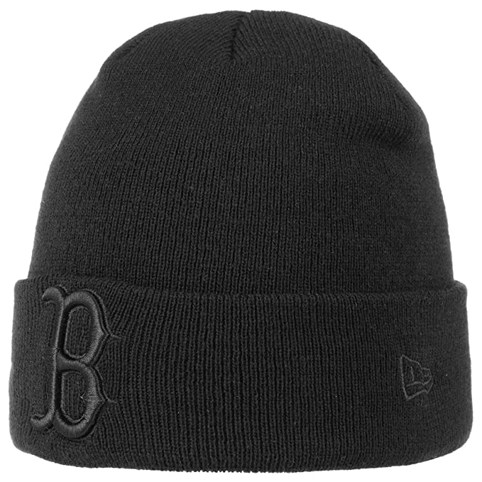 7eed73c120a New Era Men Beanies Seasonal Cuff Boston Red Sox Black Standard Size   Amazon.co.uk  Clothing