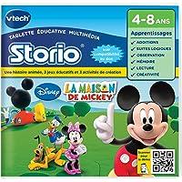 Vtech - 230405 - Storio 2 et générations suivantes  - Jeu Educatif - La Maison de Mickey
