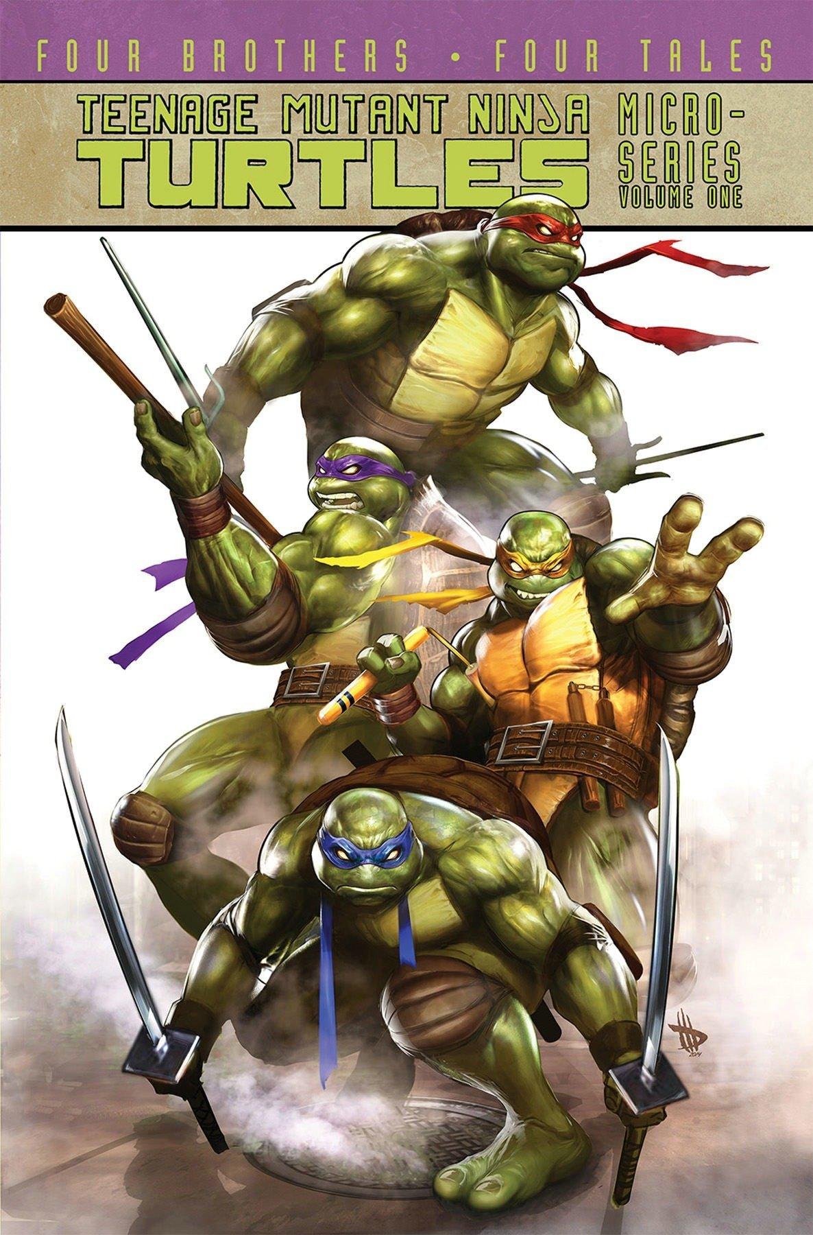 Teenage Mutant Ninja Turtles: Micro-Series Volume 1: Amazon ...
