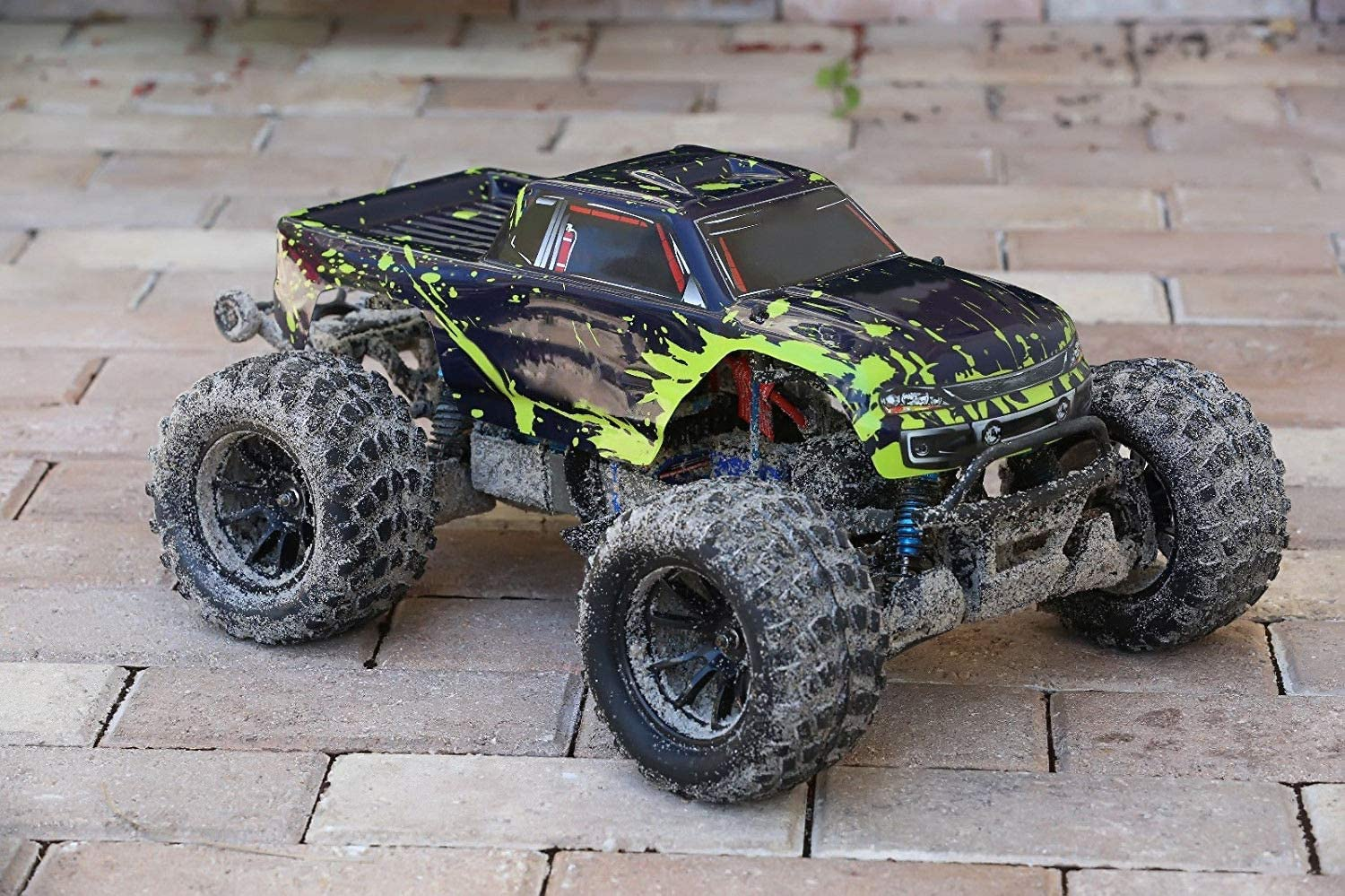 SummitLink Compatible Custom Body Muddy Green Over Black Replacement for Traxxas 1//10 Stampede Bigfoot 4x4 VXL 2WD Slayer RC Car or Truck ST-BG-02 Truck not Included
