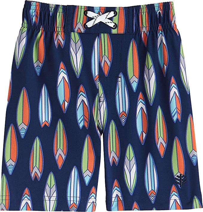 a279ca5ddb Amazon.com: Coolibar UPF 50+ Baby Boys' Island Swim Trunks - Sun Protective:  Clothing