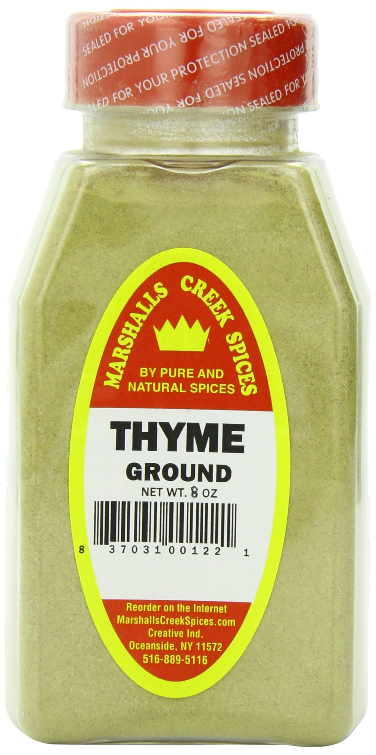 Marshalls Creek Spices Thyme Ground Seasoning, 8 Ounce