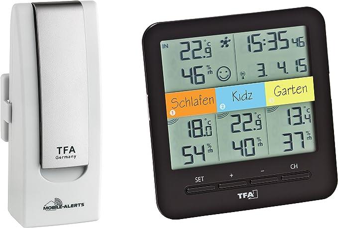 TFA Dostmann estación meteorológica, Weather Hub SmartHome ...