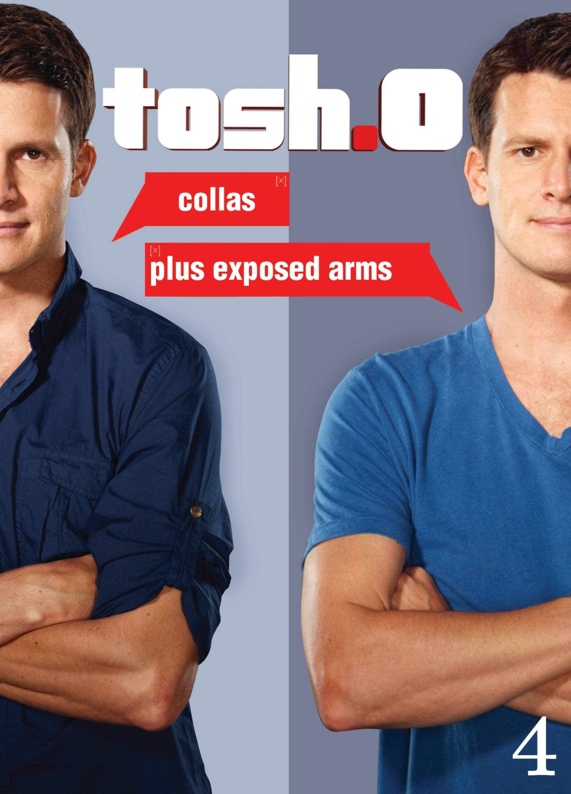 DVD : Daniel Tosh - Tosh.0: Collas Plus Exposed Arms (Widescreen, 3 Pack, Subtitled, Sensormatic)