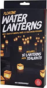 Thumbs Up UK Water Lanterns Pack of 10