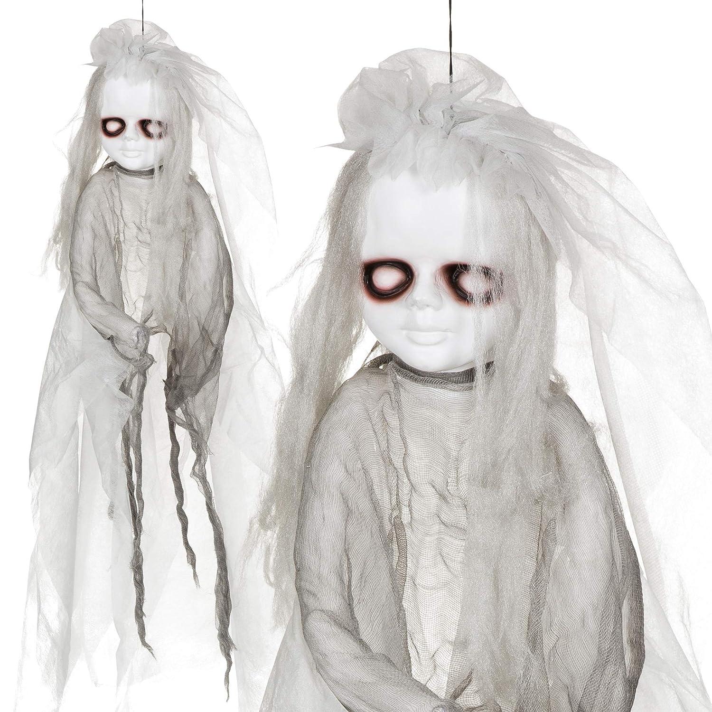 Halloween Dekoration Figur Geist Skelett Deko Karneval Fasching horror Aufhängen