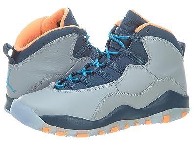 new arrival bd42c b6ffa Air Jordan Retro 10  quot Bobcats quot  (GS) Big Kids Basketball Shoes Wolf