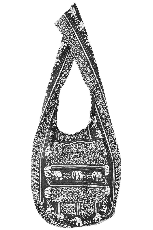 447aa8cdcbdbbd Your Cozy Crossbody Handbag Boho Handmade Cotton Bag For Unisex (Black):  Amazon.co.uk: Shoes & Bags