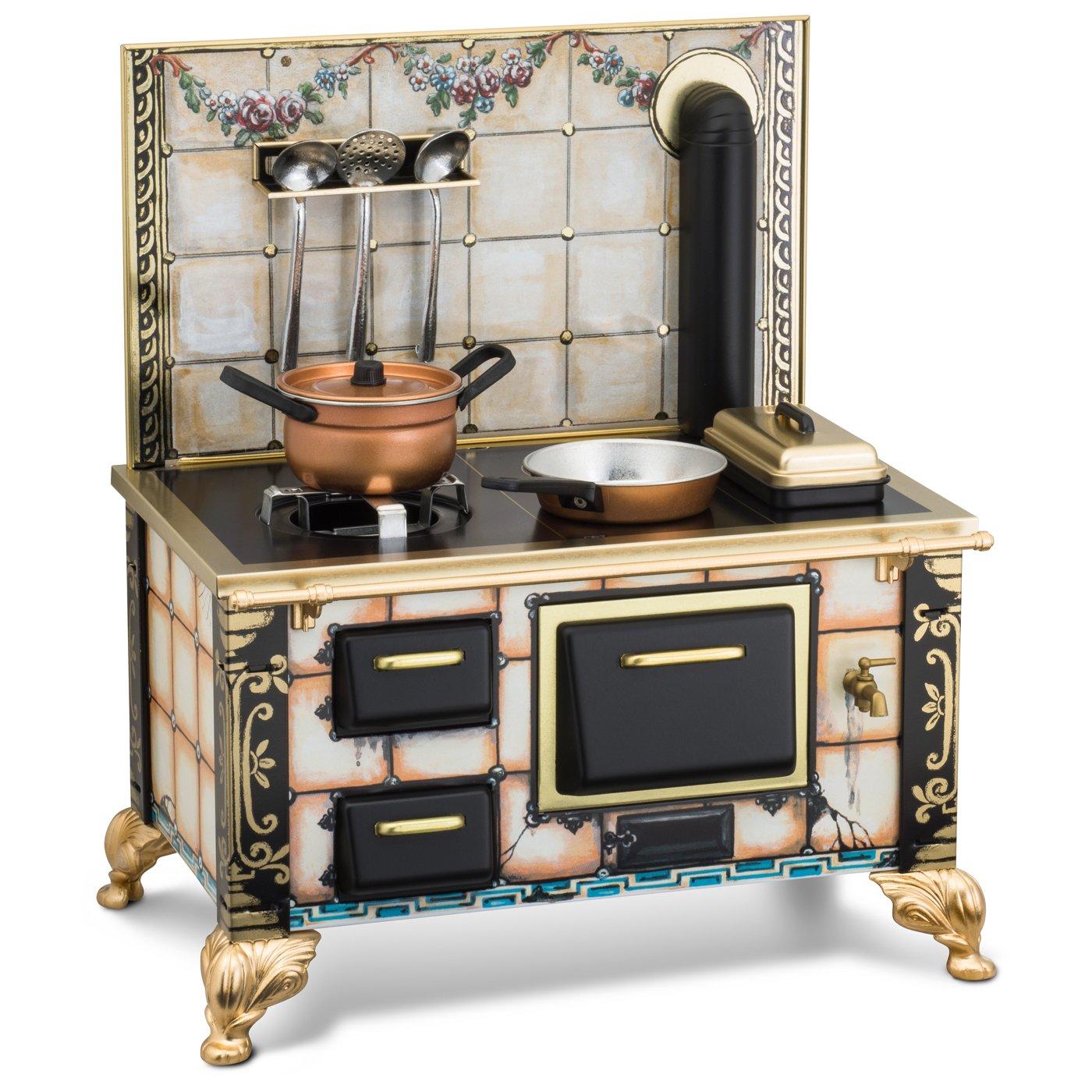 Cucina in miniatura Rustikal, funzionale - Nostalgic Giocattoli
