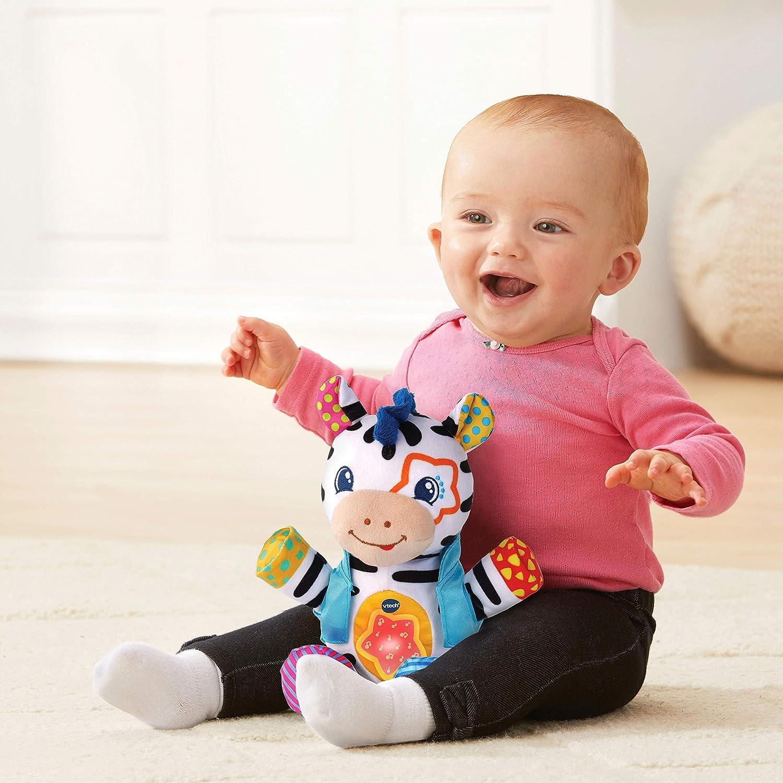 Multicolore VTech- Oscar PTIT Zebre Rockstar Baby Jouet Premier Age 80-513505
