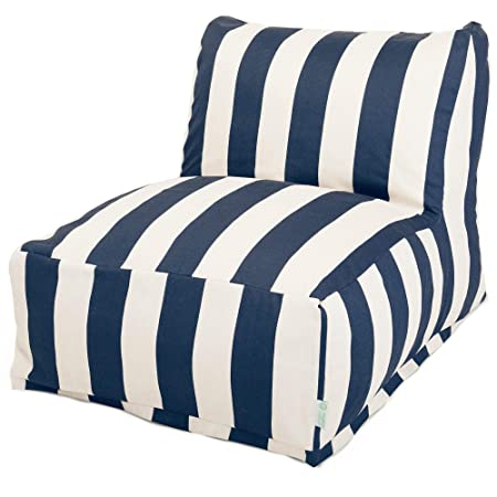 Amazon.com: Majestic Home Goods Vertical Stripe Bean Bag ...
