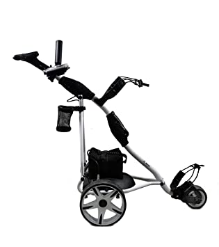 Airel Carrito de Golf Eléctrico Plegable |Carro Golf 3 Ruedas|Golf Trolley-Blanco: Amazon.es: Deportes y aire libre
