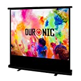 "Duronic FPS100/43 - Floor Projector Screen - 100"" (Screen: 203cm(w) X 152cm(h))Portable Freestanding 4:3 Widescreen - With carry case"