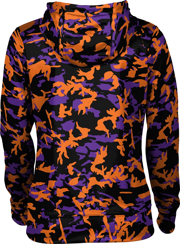 School Spirit Sweatshirt Camo ProSphere University of Evansville Girls Zipper Hoodie