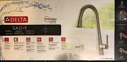 Delta SADIE kitchen faucet spotsheild stainless 19757z-spad-dst